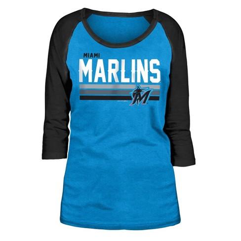 MLB Miami Marlins Women's T-Shirt - image 1 of 2