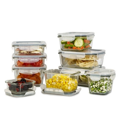 Mason Craft & More Set of 9 Food Storage Containers with Lids