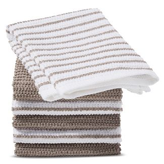 Gray Stripe Dish Cloth (6 Pk) - Room Essentials™