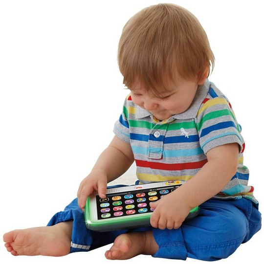 Fisher Price Laugh & Learn Smart Stages Tablet - Gray image number null