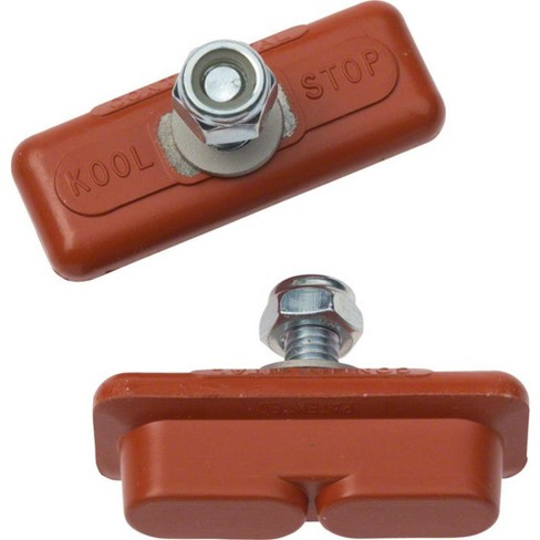 Kool-Stop Continental Pads Salmon Compound Fot Caliper Style Brakes One Piece - image 1 of 1
