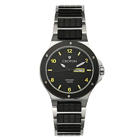 Men's Croton Dress Watch with Stainless Steel Band - image 1 of 3