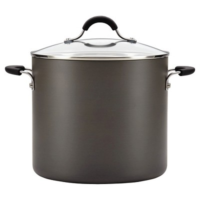 Circulon Innovatum 10qt Hard Anodized Nonstick Covered Stock Pot