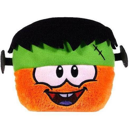 Club Penguin Series 10 Orange Puffle 4-Inch Plush [Frankenpenguin Hat] - image 1 of 1