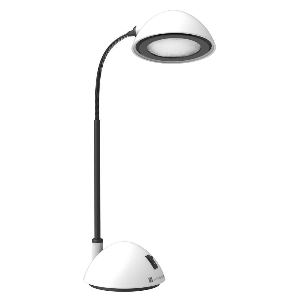 Image of Bright Energy Saving Led Desk Lamp White by Lavish Home