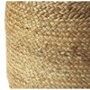 Noosa Jute Pouf Natural - Butler Specialty - image 2 of 3