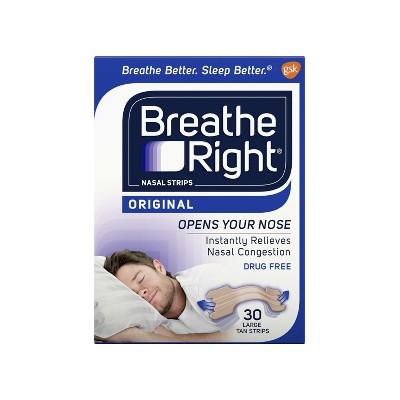 strips tan Breathe right nasal