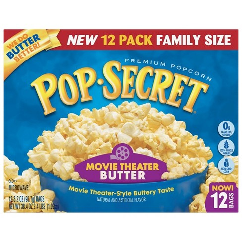 Pop Secret® Movie Theater Butter Microwave Popcorn - 12ct - image 1 of 3