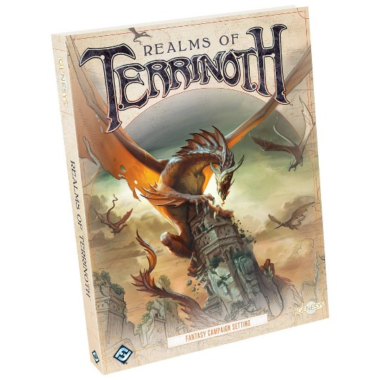 Fantasy Flight Games Genesys: Realms of Terrinoth Game image number null