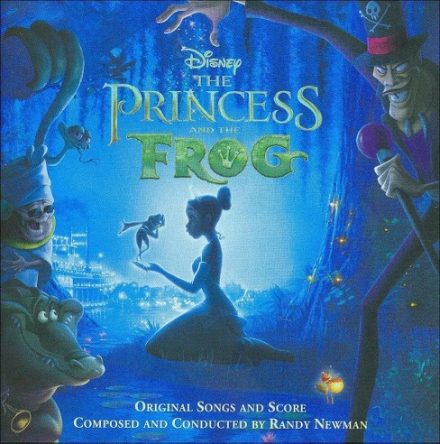 Randy Newman - The Princess and the Frog (Original Songs and Score) (CD) - image 1 of 9