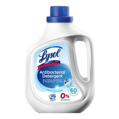 Lysol Laundry Detergent - Free & Clear - 92 fl oz