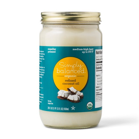 Organic Refined Coconut Oil - 29oz - Simply Balanced™ - image 1 of 1
