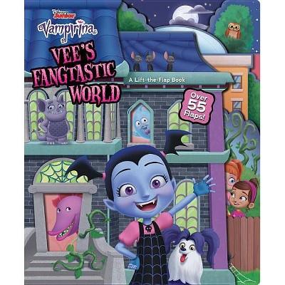 Vampirina Vee's Fangtastic World - (Board_book)