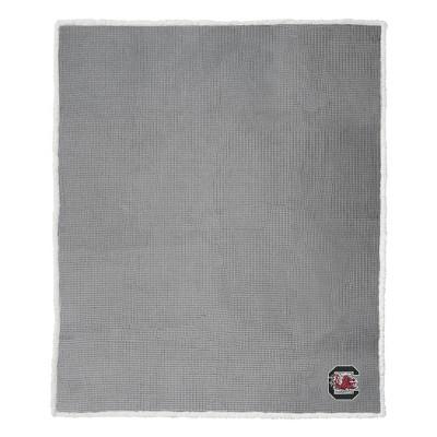 "NCAA South Carolina Gamecocks 50""x60"" Waffle Sherpa Blanket"