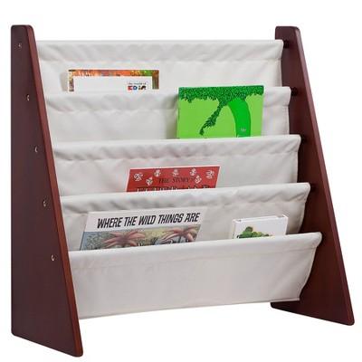 Sling Book Shelf Cherry/Tan - Wildkin