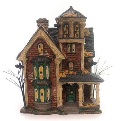 Department 56 House Ghastly's Haunted Villa Halloween  -  Decorative Figurines