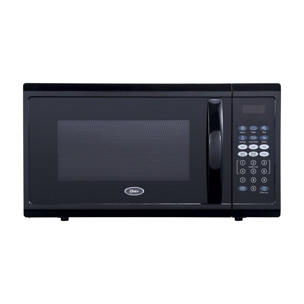 Image of Oster 1.1 cu ft 1100W Digital Microwave Oven - Black OGZJ1104