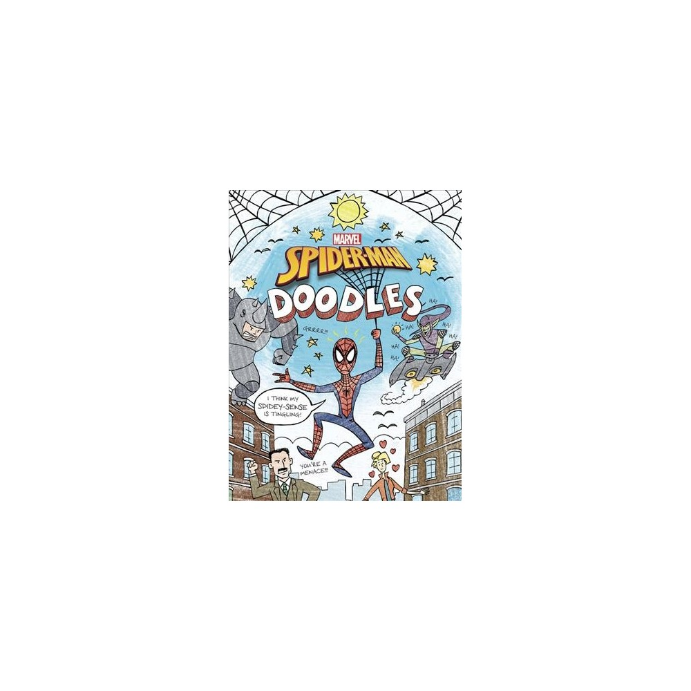 Spider-Man Doodles - (Doodle Book) by Brandon T. Snider (Paperback)