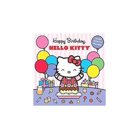 happy birthday hello kitty paperback target