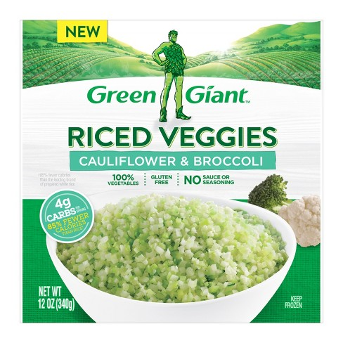 Green Giant Riced Frozen Veggies Cauliflower Broccoli 10oz Target