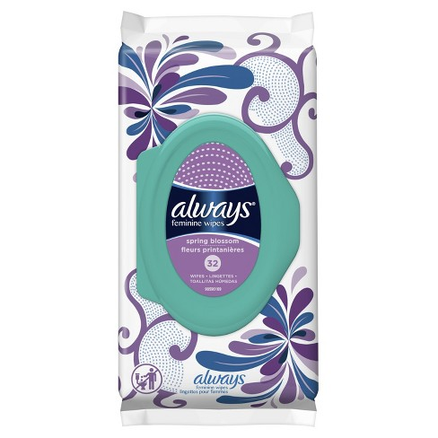Always Spring Blossom Feminine Wipes - 32ct - image 1 of 3