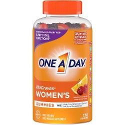 One A Day Women's VitaCraves Multivitamin Gummies - Orange, Cherry & Berry