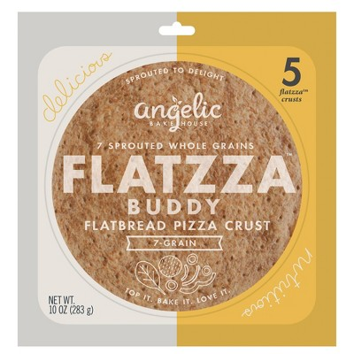 Angelic Bakehouse Sprouted Seven Grain Flatzza 5pk