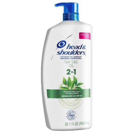 Head & Shoulders Tea Tree Oil 2-in-1 Shampoo and Conditioner - 32.1 fl oz - image 1 of 2