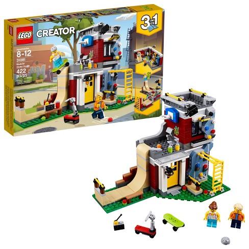 72b5d3bce84 LEGO Creator Modular Skate House 31081 : Target