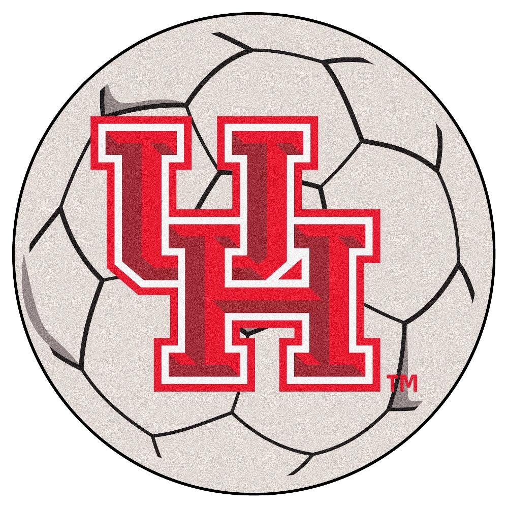 NCAA 27 Soccer Ball Mat Houston Cougars