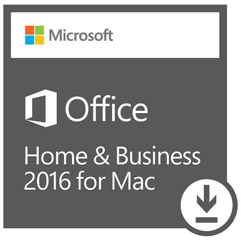 Microsoft Office Mac Home & Business 2016 (Digital) - image 1 of 1