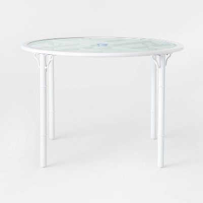 Pomelo 4-Person Patio Dining Table - White - Opalhouse™