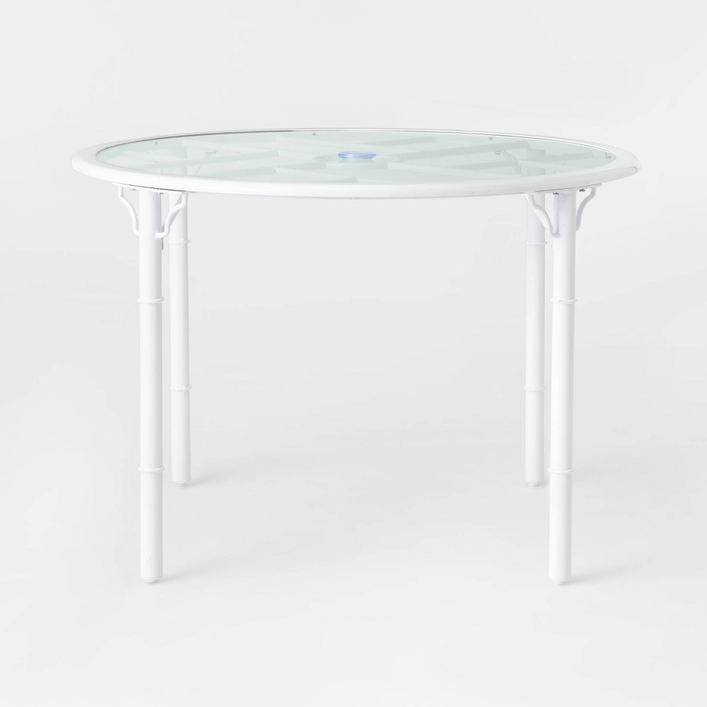 Pomelo 4-Person Patio Dining Table - White - Opalhouse was $300.0 now $150.0 (50.0% off)