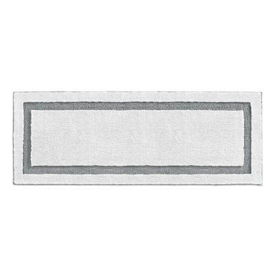 mDesign Soft Microfiber Polyester Rug, Non-Slip Spa Mat/Runner