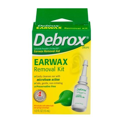 Debrox Aid Drops & Bulb Syringe Earwax Removal Kit - 0.5 fl oz - image 1 of 4
