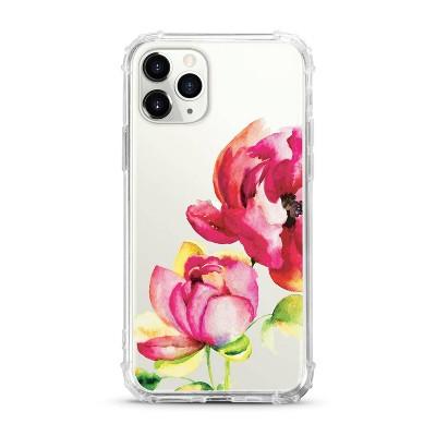 OTM Essentials Apple iPhone 11 Pro Clear Case - Brilliant Bloom Red