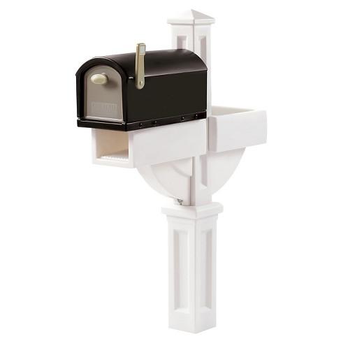 Step2 MailMaster Hudson With Planter Black/White - image 1 of 2