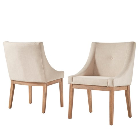 Amiford Button Tufted Dining Chair Set Of 2 Inspire Q Target