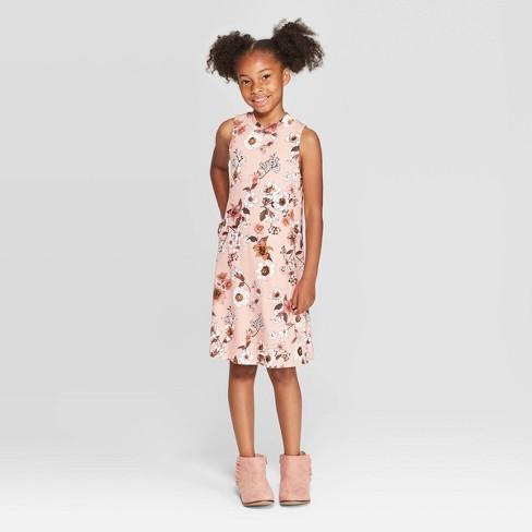 Girls' Mock Neck Tank Dress - art class™ - image 1 of 3