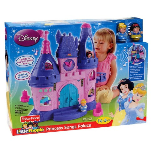 fisher price little people disney princess songs palace target