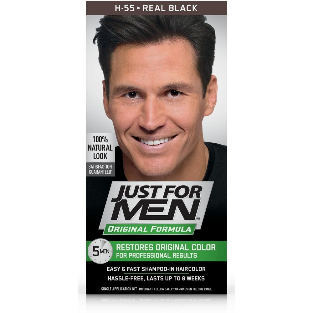 Just For Men Original Formula Real Black H-55