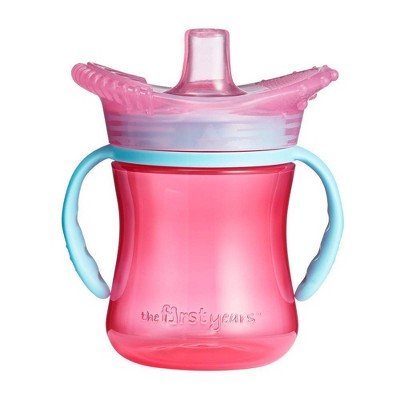 The First Years Teething Soft Spout Trainer Cup - Pink