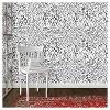 Speckled Dot Peel & Stick Wallpaper Black - Opalhouse™ - image 3 of 4