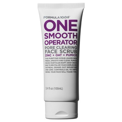 Formula 10.0.6 One Smooth Operator Facial Cleanser - 3.4 fl oz