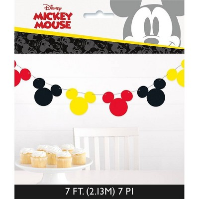 Mickey Mouse & Friends Garland Banner Party Decoration and Accessory
