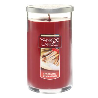 Yankee Candle® - Sparkling Cinnamon Medium Pillar Candle 12oz