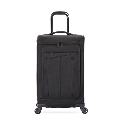 SwissGear Getaway Carry-on Suitcase with USB Port - Black