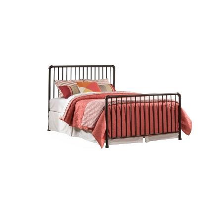 Full Brandi Metal Bed Set Bronze - Hillsdale Furniture
