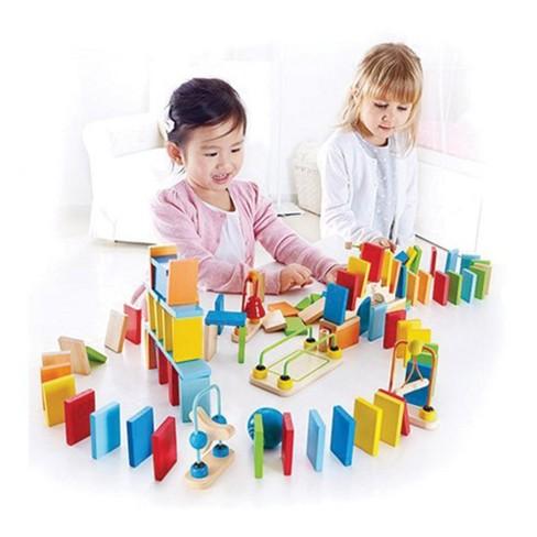 HAPE Dynamo Dominoes Construction Set - 107 Pieces - image 1 of 3