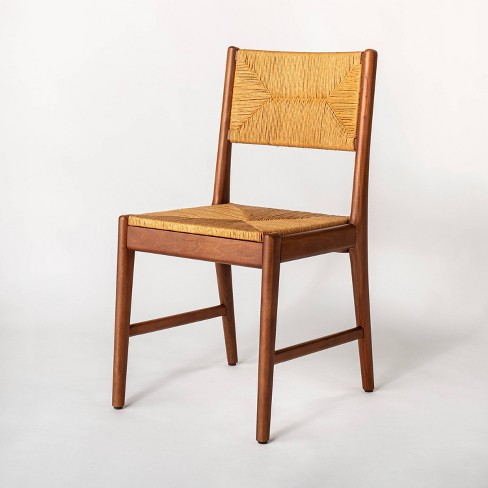Sunnyvale Woven Dining Chair - Threshold™ designed with Studio McGee - image 1 of 4